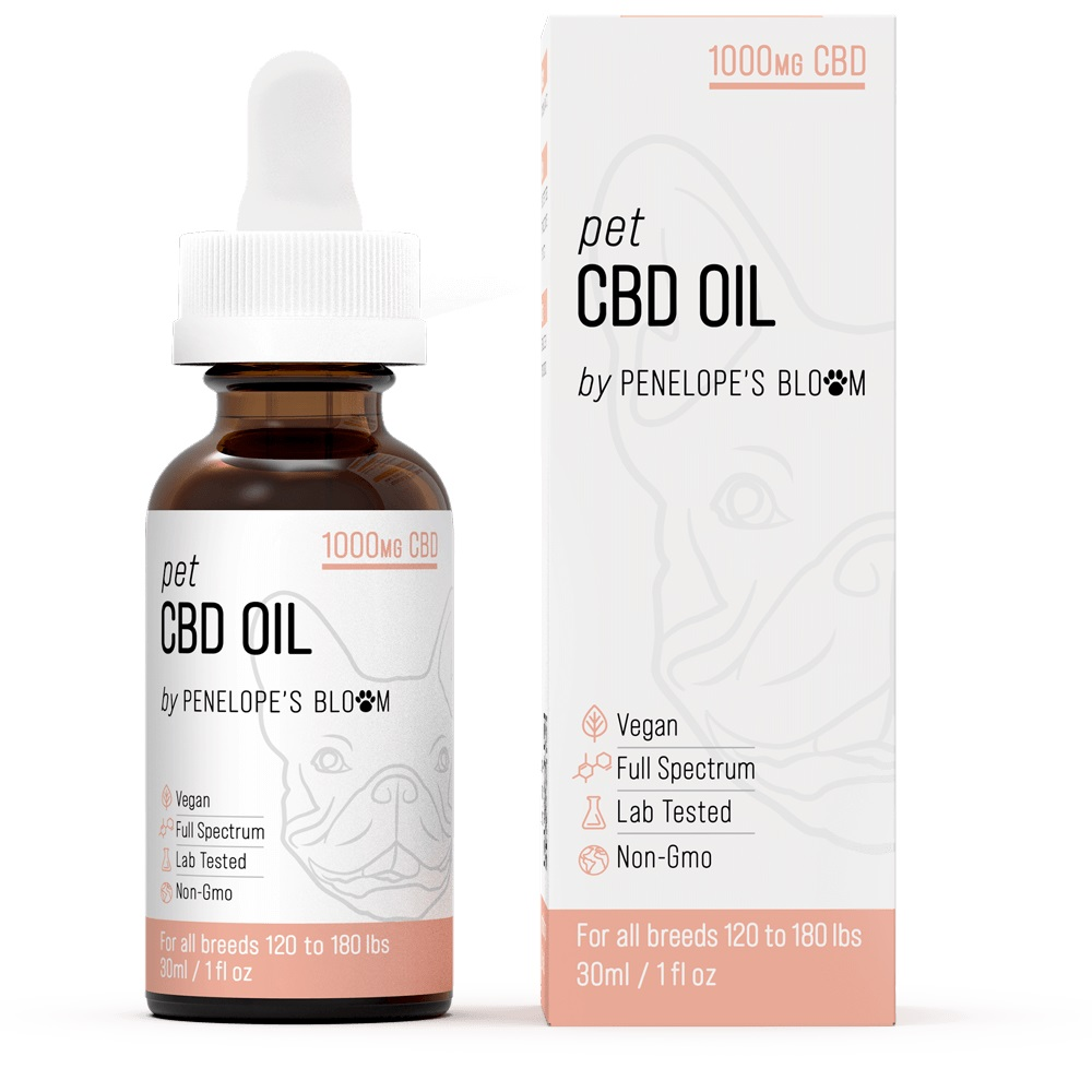 Review of Penelope's Bloom CBD Oil Tincture for Dogs and Cats